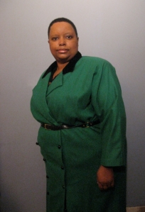 The Wicked Woman in Her Green Funeral Ensemble