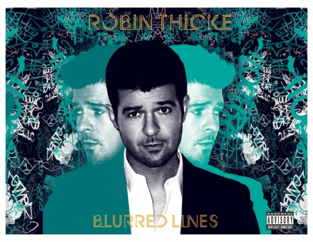 Robin Thicke's Blurred Lines CD